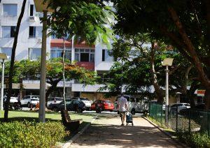 Parque no bairro Estreito