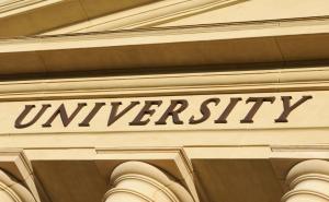 spin-offs acadêmicas: fachada de universidade