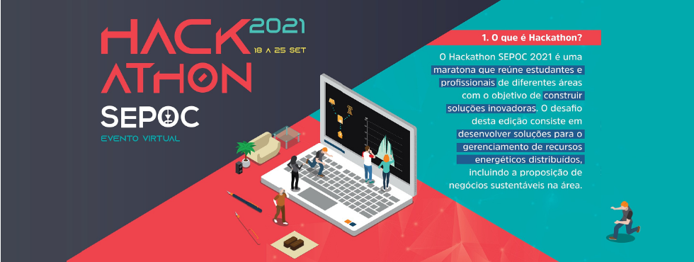Hackathon SEPOC 2021 Acontecerá No Formato Online Em Setembro